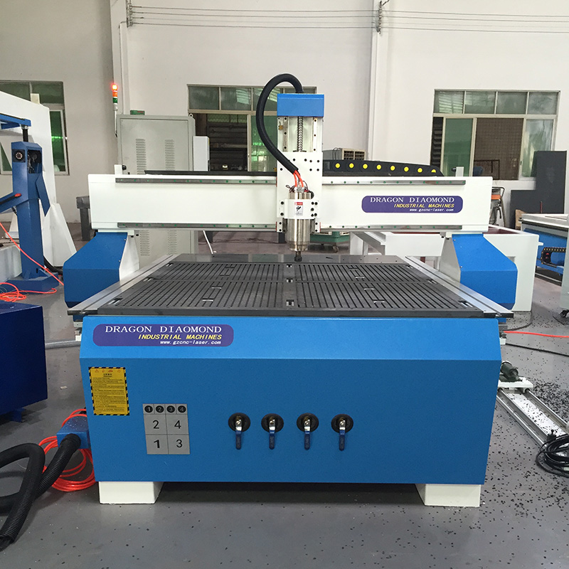 Dragon Diamond Heavy Dust Small and Advertising CNC Router 1200*1200mm- CNC 1212B Woodworking CNC Router image18