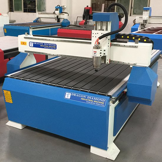 Dragon Diamond Woodworking CNC Router With Aluminum PVC T Slot Table For Hard Wood - CNC 1325A Woodworking CNC Router image17