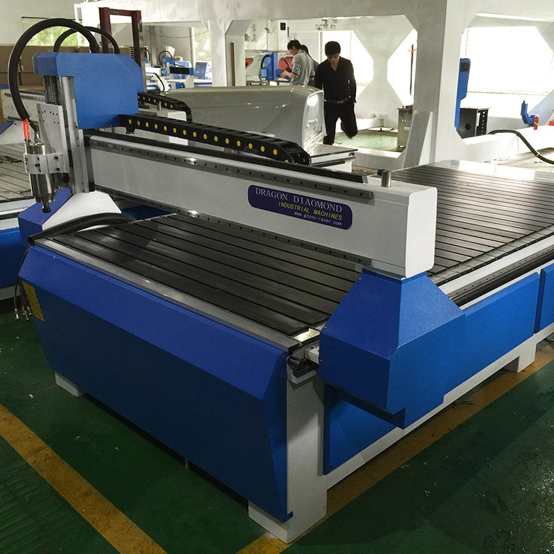 Dragon Diamond Linear And Round Type ATC CNC Router Wood Engraving And Cutting Machine image35