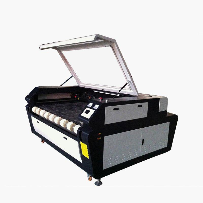 Cloth Leather Fabric Co2 Laser Engraving Cutting Machine For Sale- 1610