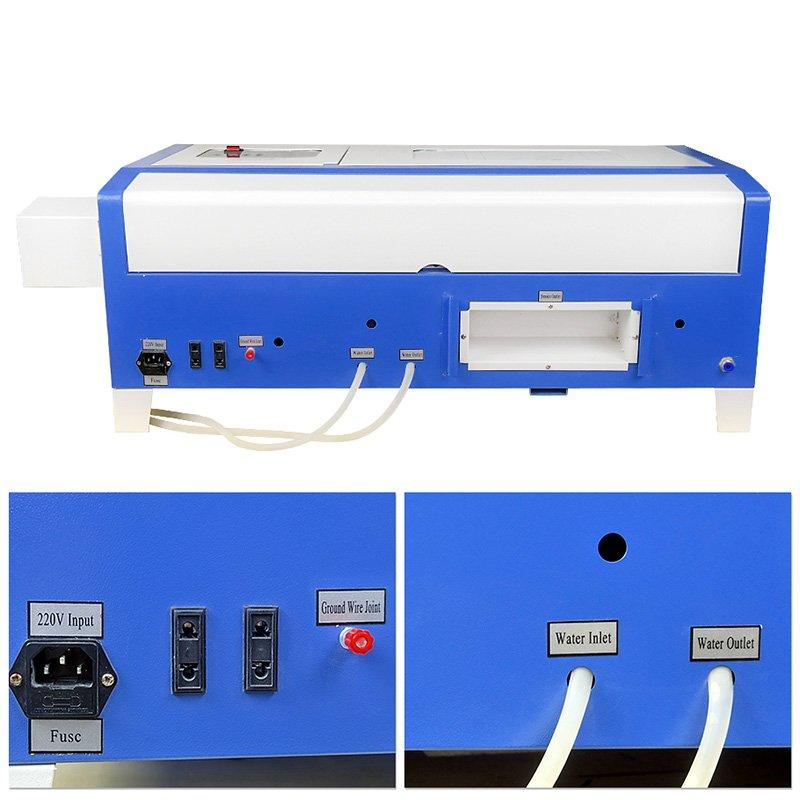Updated Mini 300*200mm Acrylic wood stamp Co2 Laser Engraving Machine - MINI Laser M40B