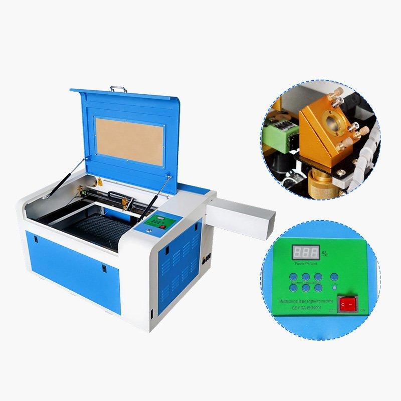 Portable 400*600mm Co2 Laser Engraving Cutting Machine - MINI Laser M46B