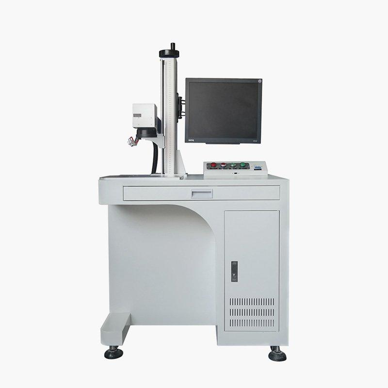 LZ-F200 20W 30W 50W Fiber Laser Marking Machine For Stainless Steel Aluminum Acrylic