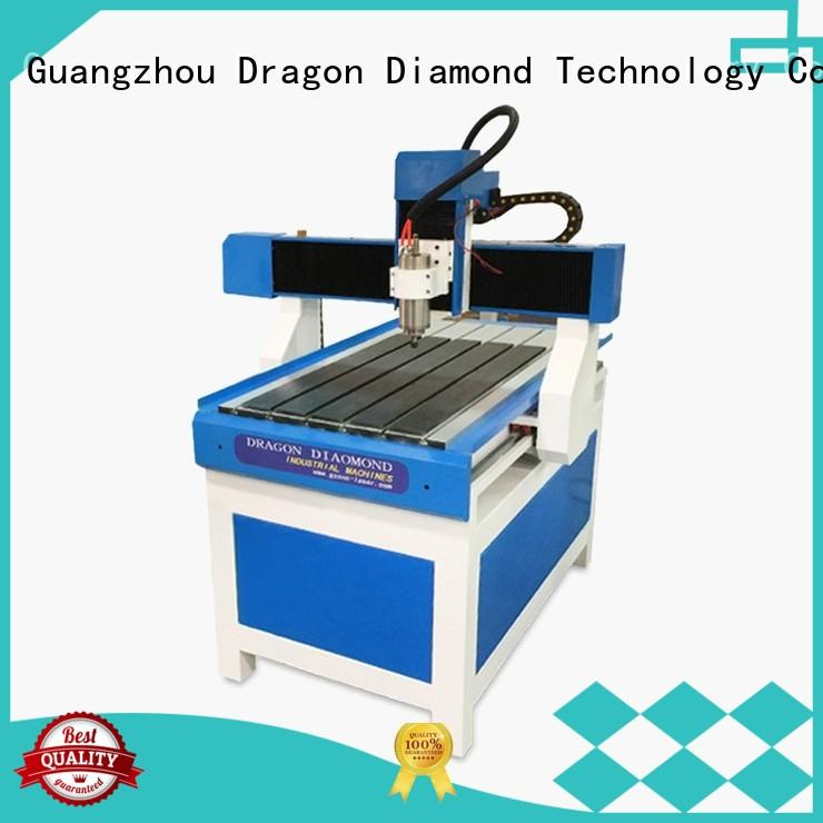 Custom cnc material mini cnc router Dragon Diamond sweaty