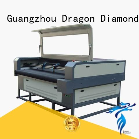 machine laser cloth cutting machine cloth Dragon Diamond company