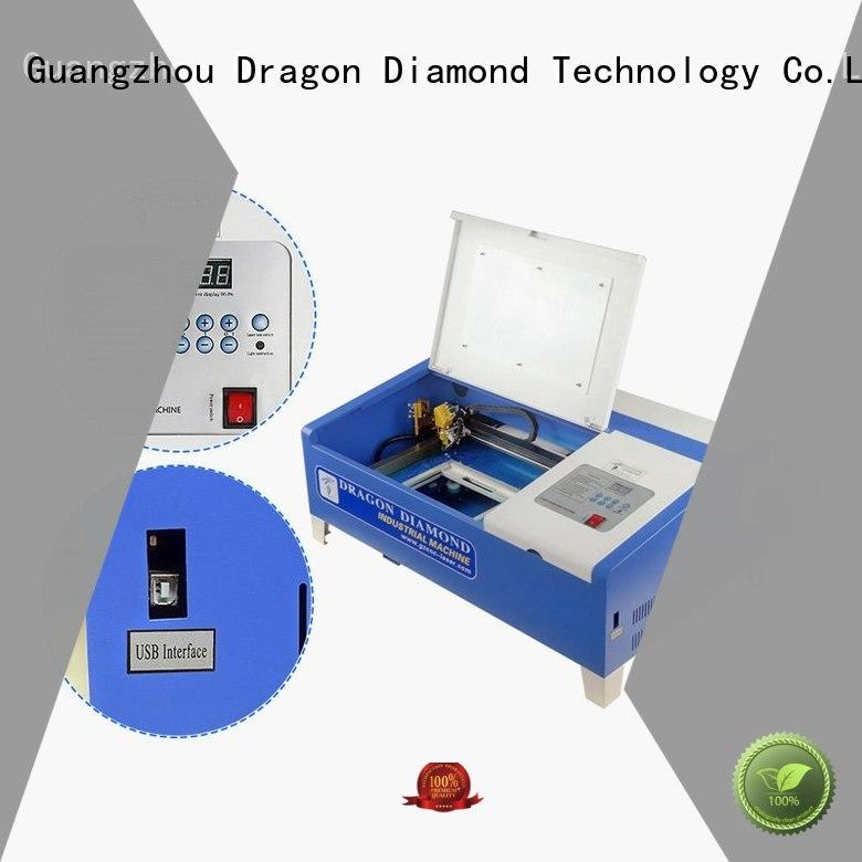 Dragon Diamond easy-operating mini laser cutter directly sale for marble making