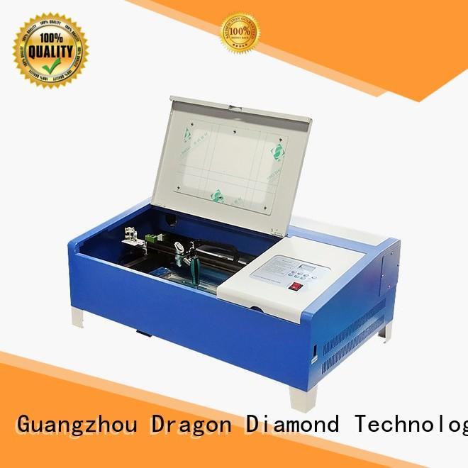 small laser cutter PLT co2 mini laser cutting machine Dragon Diamond Brand