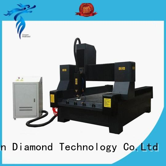 Dragon Diamond Brand cooling double router engraving machine