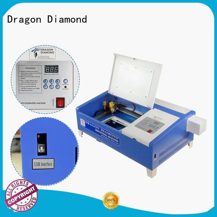 mini laser engraving machine cutting for marble making Dragon Diamond