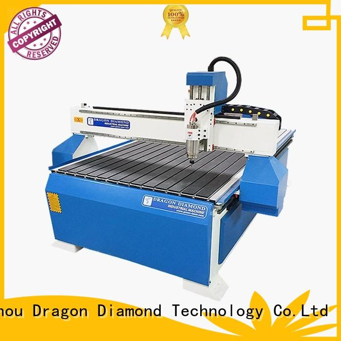 Woodworking CNC Router With Aluminum PVC T Slot Table For Hard Wood - CNC 1325A