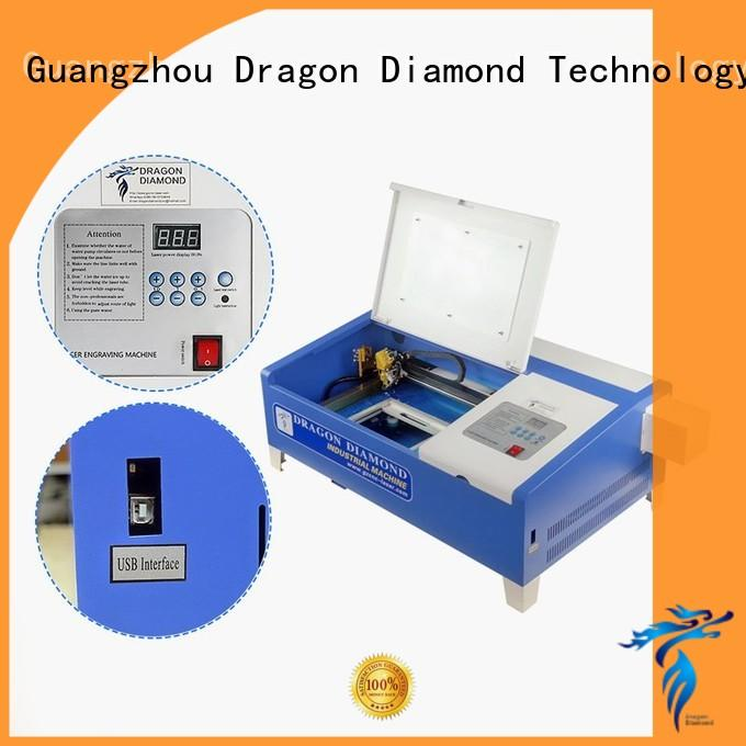 DXF AI ISO Dragon Diamond Brand small laser cutter factory