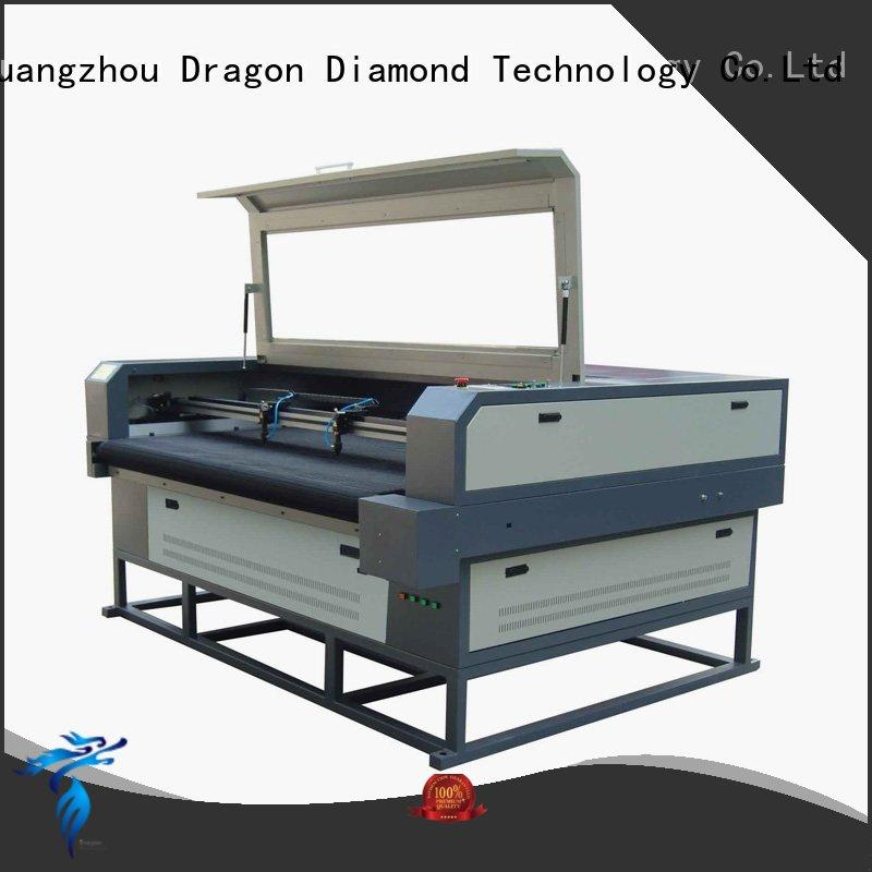 Wholesale PLT leather shoes laser cutting machine Dragon Diamond Brand