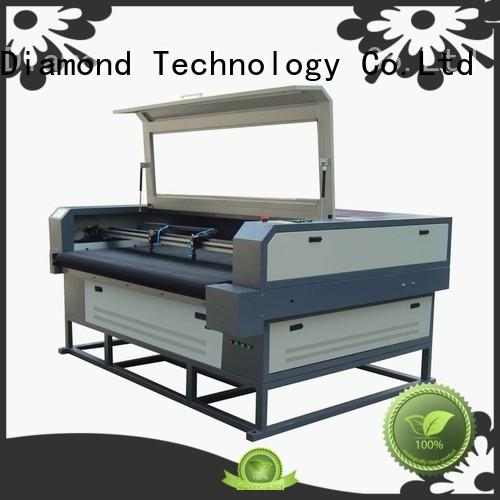 co2 leather shoes laser cutting machine 220V PLT Dragon Diamond Brand