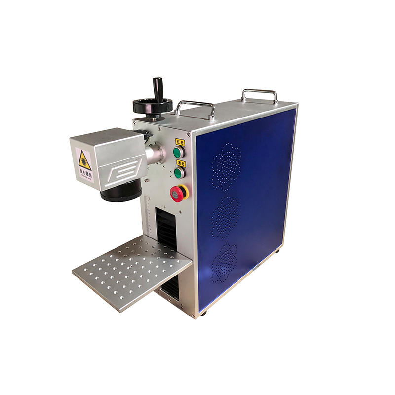 20w 30w 50w Portable Fiber Laser Marking Machine For Metal Engraving