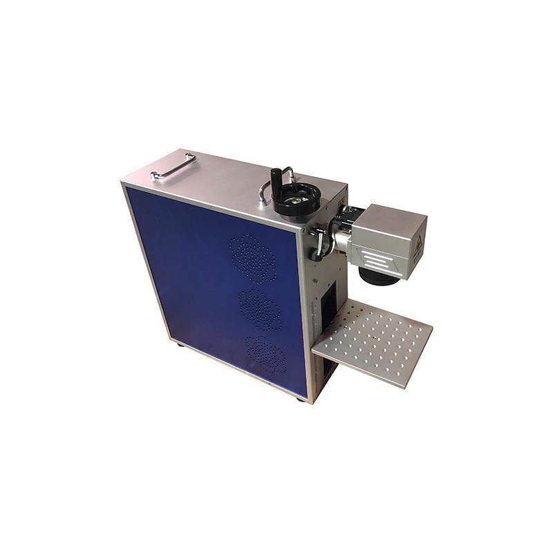 20w 30w 50w Portable Fiber Laser Marking Machine For Metal Engraving