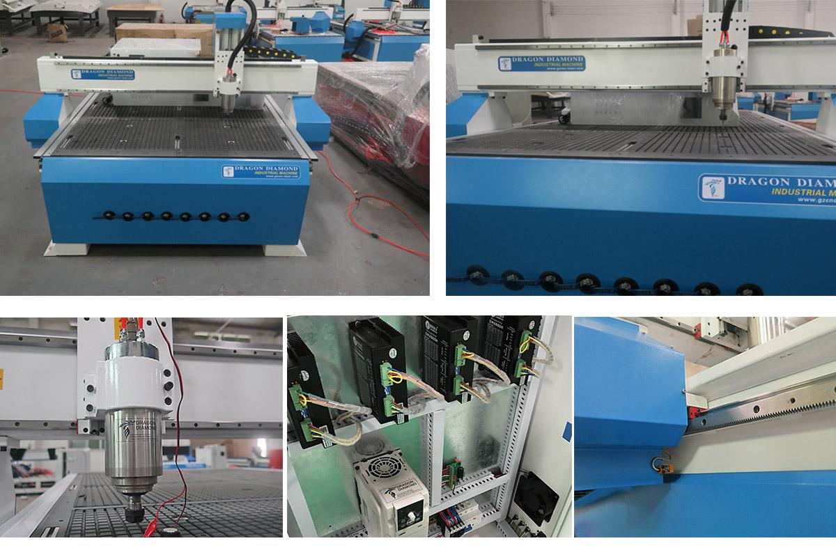 Vacuum Table CNC Router 1530 Details