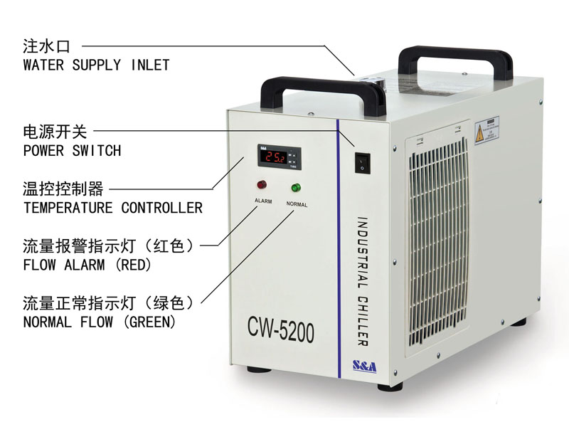 How to install the water chiller of laser cutting machine? 3