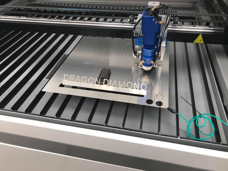 Mix co2 laser cutter metel laser cutting machine 1390