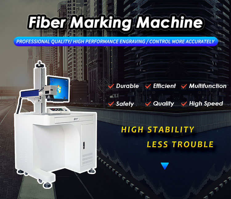 Marking any material - Fiber Laser Marking Machine 1