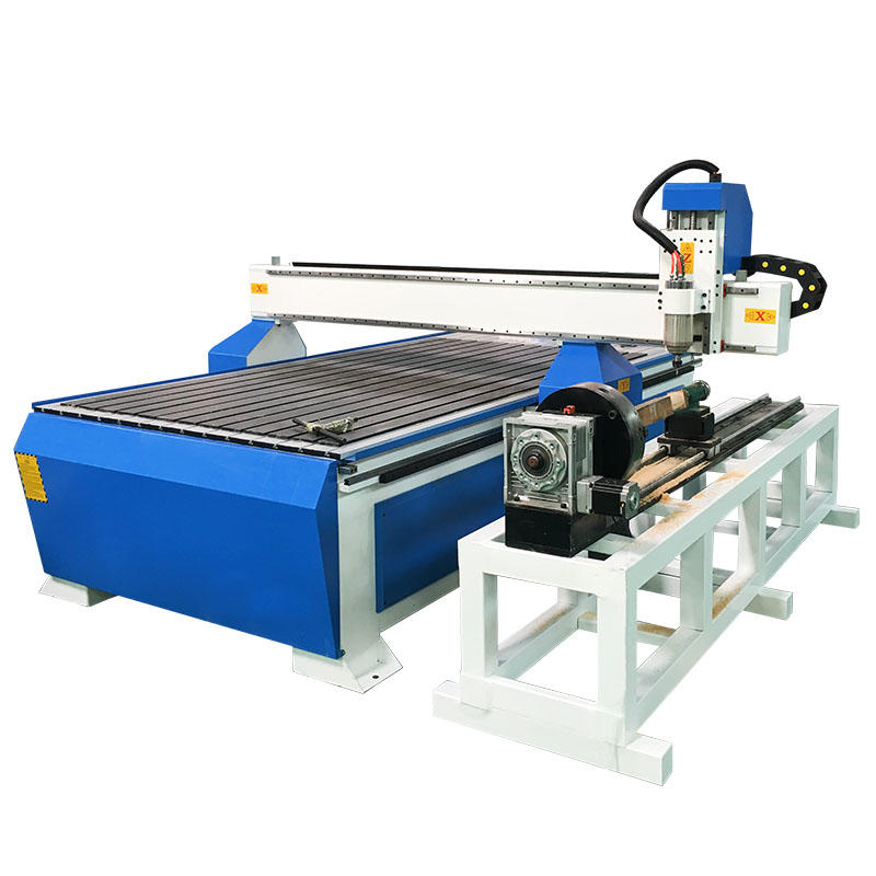 4 Axis 1325 Woodworking CNC Router with Independent Dia 300mm Rotary Axis