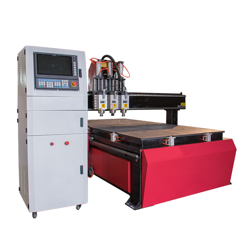 Dragon Diamond Independent Rotary Device 4 Axis 1325 Woodworking CNC Router Machine image3