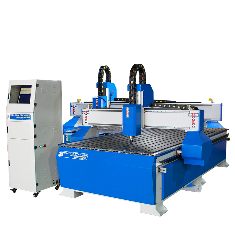 Dragon Diamond New Design Furniture Woodworking CNC Router 1300*2500mm With CE Approved - CNC 1325A Woodworking CNC Router image2