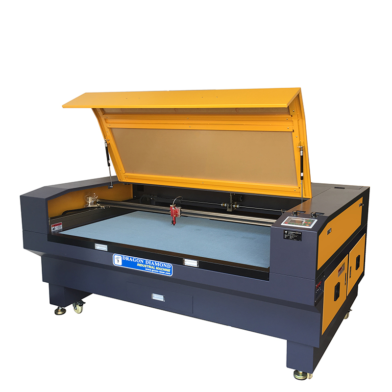 Dragon Diamond 1610 Laser Cutting And Engraving Machine Lase Cutter Cloth Leather Co2 Laser Machine image1