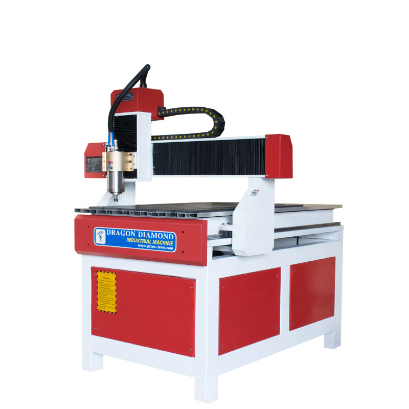 Dragon Diamond Small and Advertising CNC Router With 600*900mm - CNC 6090A(Red and white) Small and Advertising CNC Router image2
