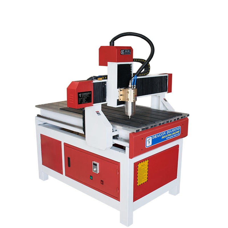 Small and Advertising CNC Router With 600*900mm - CNC 6090A(Red and white)