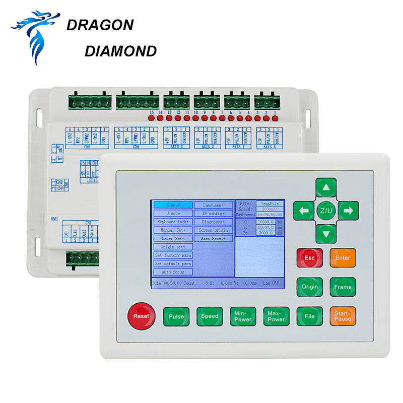 RD6442G control system (card + LCD Panel+ wire) For Laser Machine