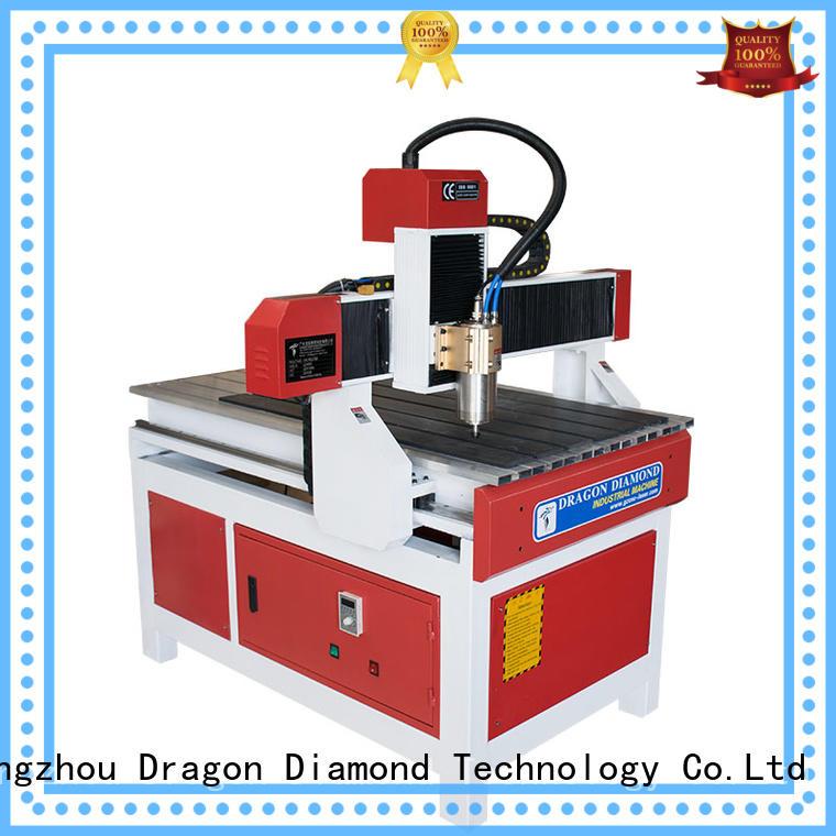 Dragon Diamond Brand high standard material mini cnc router big factory