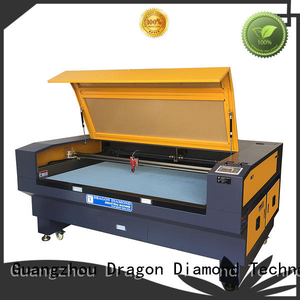 Hot BMP laser cloth cutting machine single 50HZ Dragon Diamond Brand