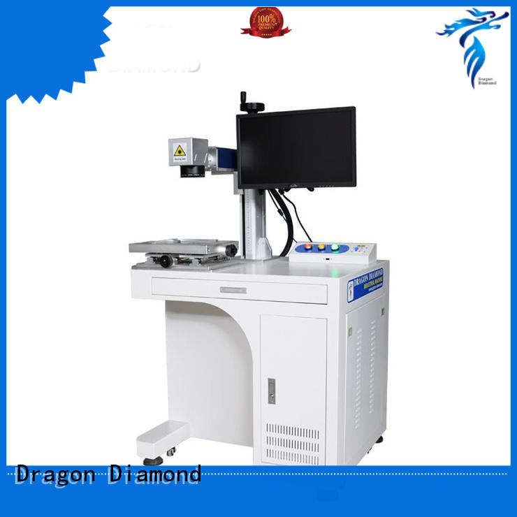 LZ-F200 20W 30W 50W Fiber Laser Marking Machine With Lifting Paltform For Stainless Steel Aluminum Acrylic
