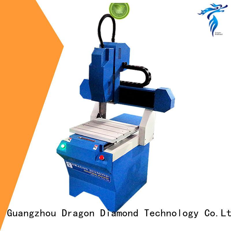 Dragon Diamond Brand jade geometric small cnc machine for metal metal supplier