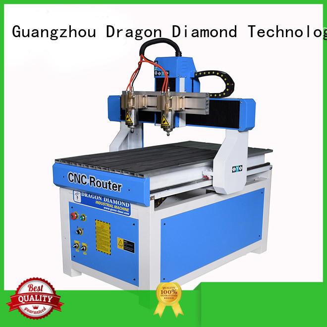 Custom advertising processing mini cnc router Dragon Diamond 8m/min