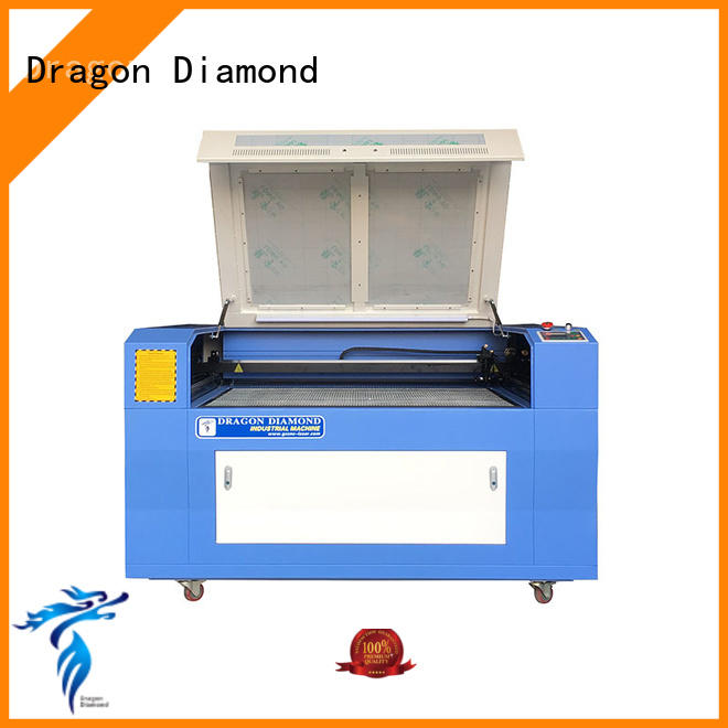 Dragon Diamond high quality wood laser engraving free quote for marble making